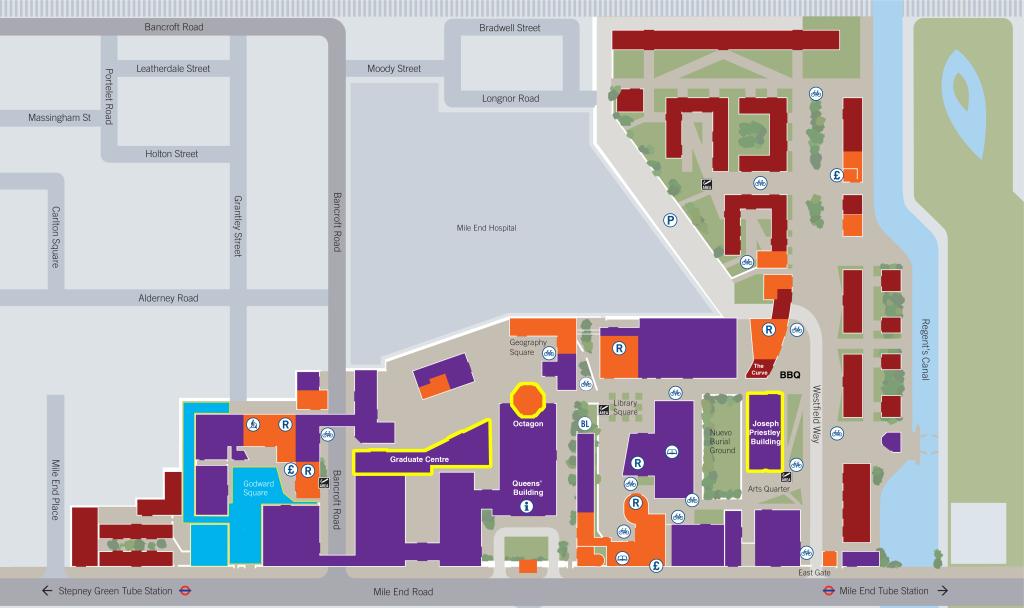 QMUL Campus Map