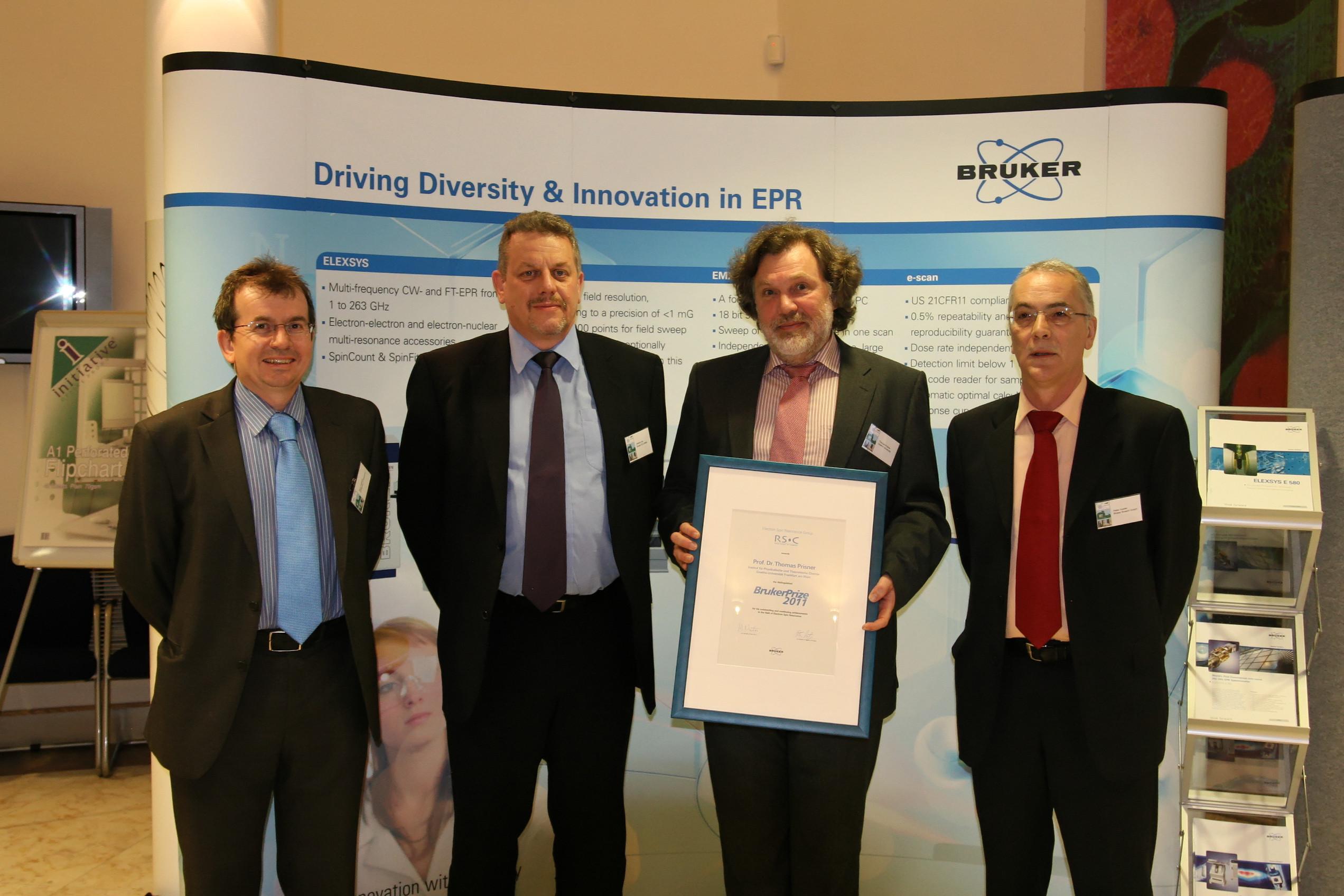Bruker Prize 2011