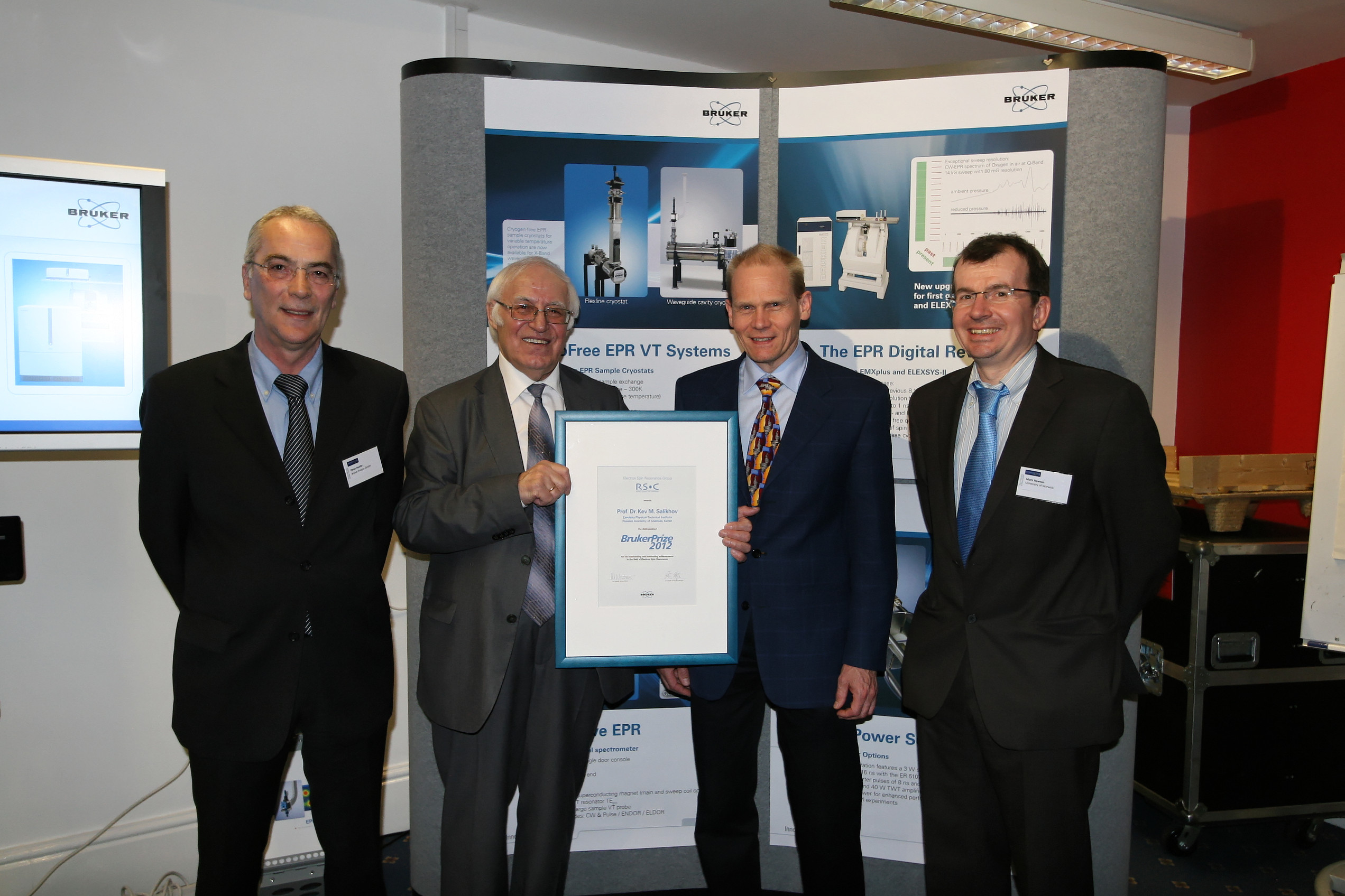 Bruker Prize 2012