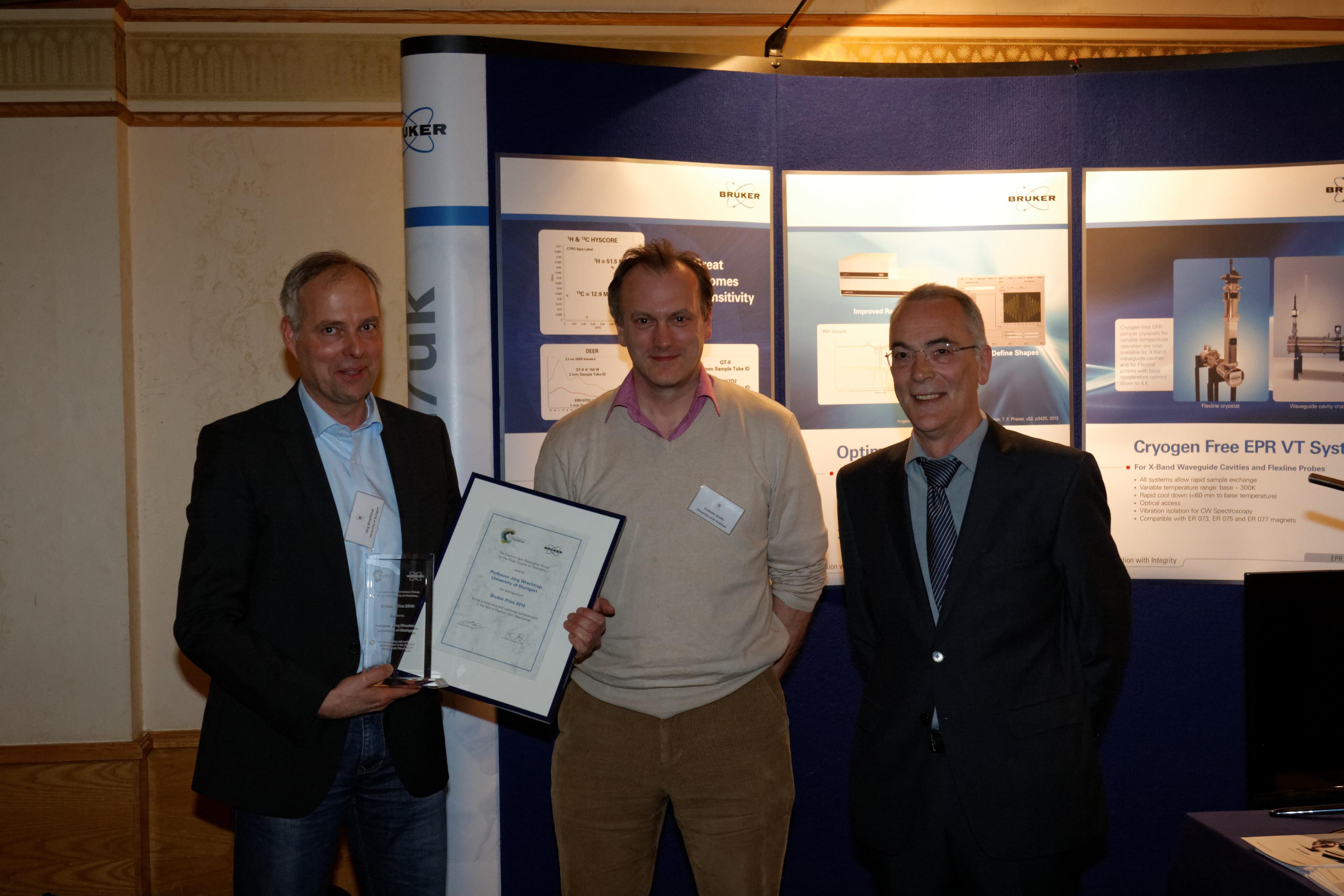 Bruker Prize 2014